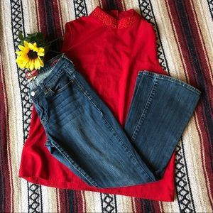 *405 Lucky Brand Sofia Boot Jeans